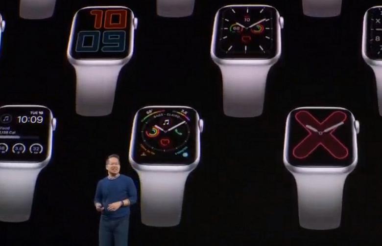 Представлены умные часы Apple Watch Series 5, которые наконец-то получили AlwaysOn Display