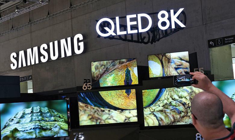 Samsung будет разрабатывать первый в мире телевизор 8K-5G
