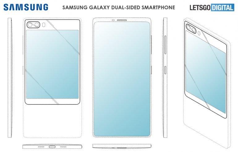 Галерея дня: Samsung может лишить фронтальной камеры Galaxy S11e, но оснастить большим экраном на задней панели