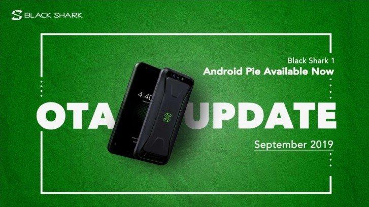 Первый игровой смартфон Xiaomi наконец-то получил Android Pie
