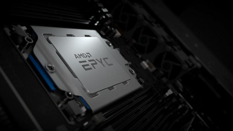 AMD представила свой самый производительный 64-ядерный процессор