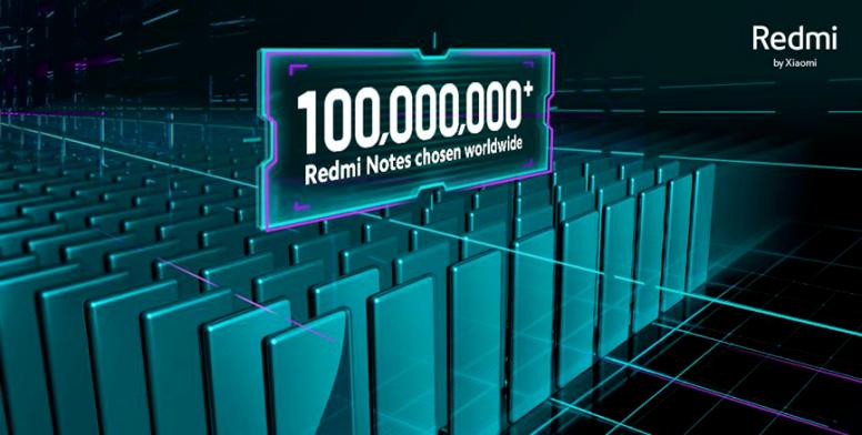 Очередной рекорд. Продажи смартфонов Xiaomi серии Redmi Note преодолели рубеж в 100 миллионов