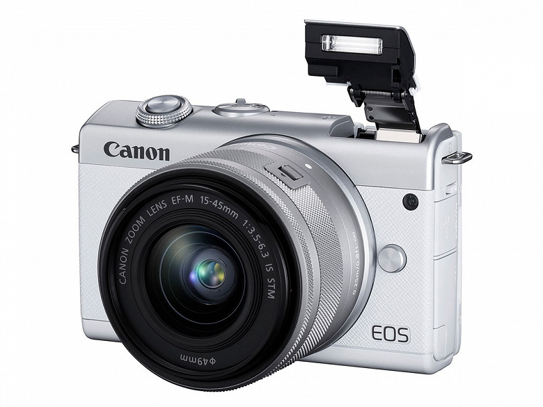 Представлена камера Canon EOS M200 формата APS-C