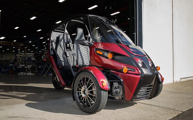Начались поставки трехколесных электромобилей Arcimoto FUV