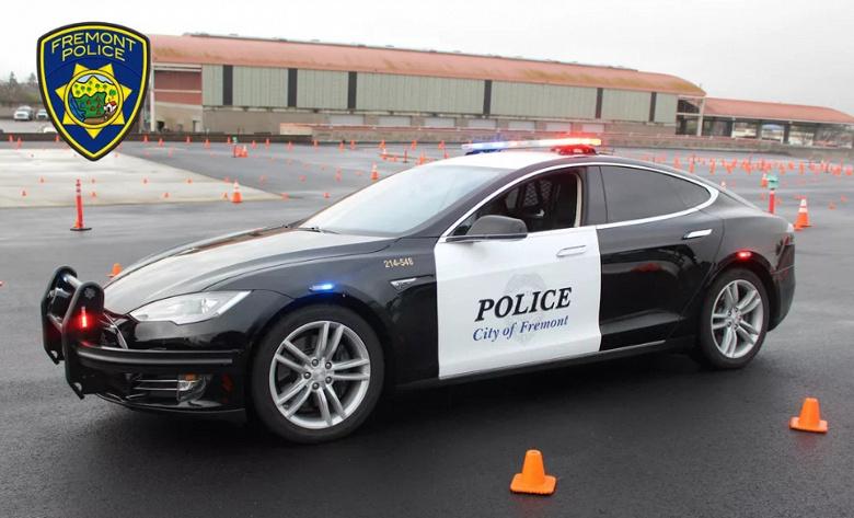Полицейской машине Tesla Model S не хватило заряда аккумулятора, чтобы догнать преступника