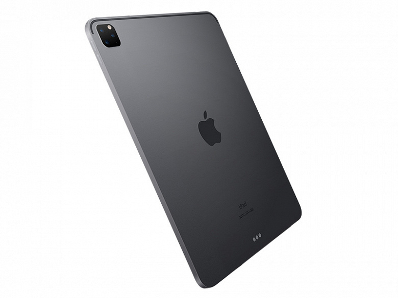 Новые планшеты iPad Pro первыми среди устройств Apple примеряют камеры ToF