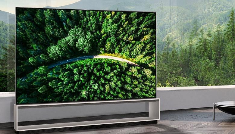В США начались продажи телевизоров LG Z9 с 88-дюймовыми экранами OLED 8K