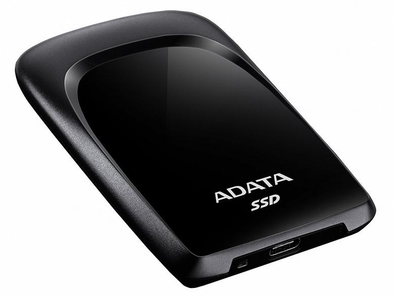 Внешний твердотельный накопитель Adata SC680 оснащен интерфейсом USB 3.2 Gen 2
