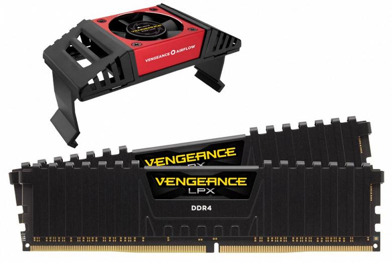 У Corsair готовы модули памяти Vengeance LPX DDR4-4866