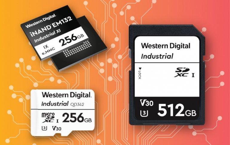 Компания Western Digital представила решения для хранения данных в промышленных приложениях AI, ML и IoT