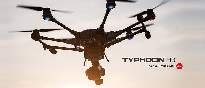 Дрон Yuneec Typhoon H3 будет оснащен камерой, разработанной совместно с Leica