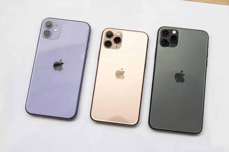 У всех по 4 ГБ ОЗУ. iPhone 11, iPhone 11 Pro и iPhone 11 Pro Max ничем не удивили в AnTuTu