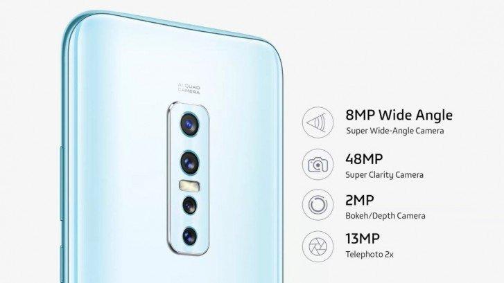 Компания Vivo представила смартфон Vivo V17 Pro