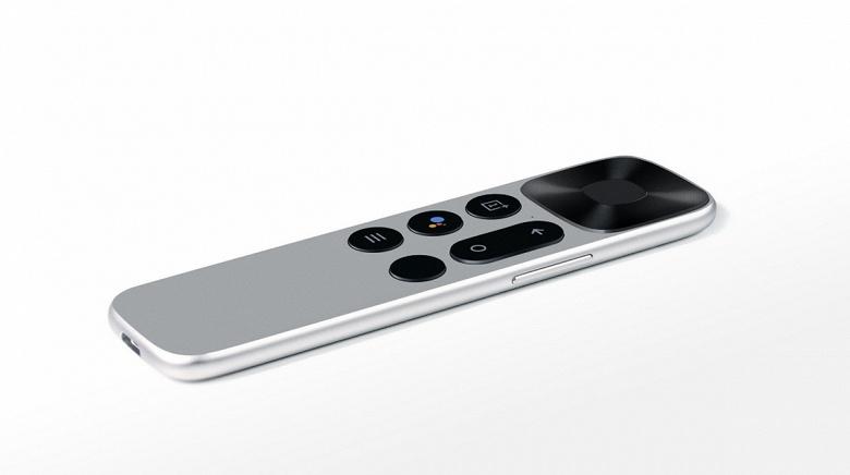 Минимум кнопок и никаких батареек. Появилось изображение пульта ДУ для OnePlus TV