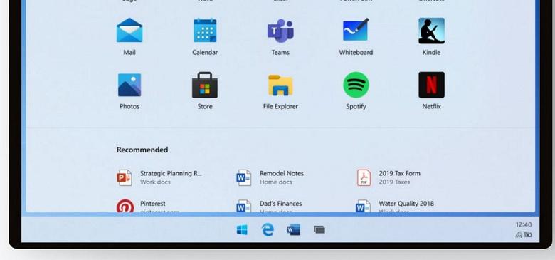 В Сеть слили скриншоты интерфейса Windows 10X