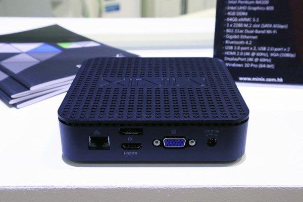 Мини-ПК MINIX NEO G41V-4 обходится без вентиляторов