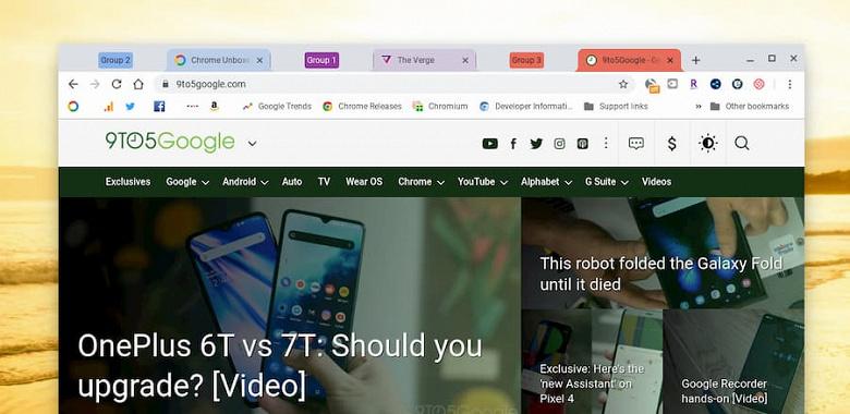 Что делать, если открыл сотню сайтов и надо ещё. Google сделает браузер Chrome намного удобнее