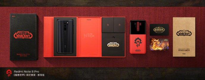 Объявлена дата старта продаж Redmi Note 8 Pro World of Warcraft