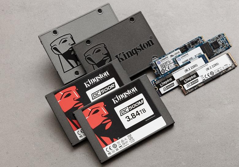 Твердая память. Kingston продала более 13 миллионов SSD за полгода