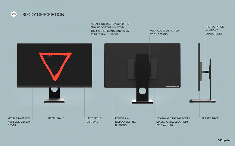 Игровой монитор Eve Spectrum — плод коллективного разума