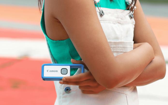 Компания Canon представила камеру-брелок
