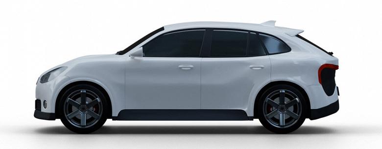 Представлен российский электрокроссовер Monarch Concept SX