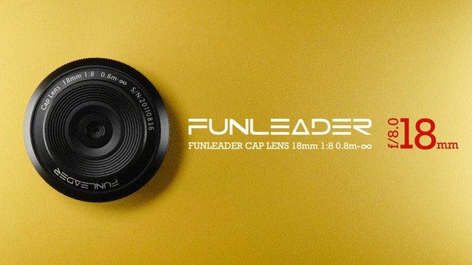 Объектив Funleader LensCap 18mm f/8.0 не имеет функции фокусировки