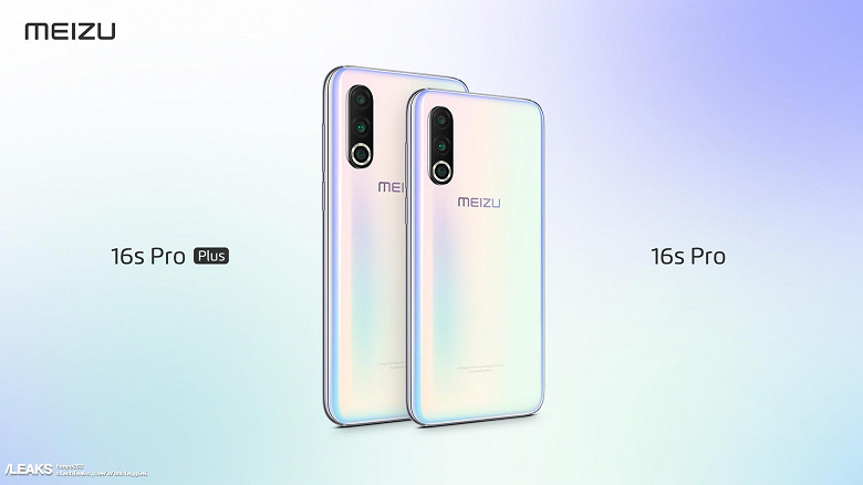 Новый флагман Meizu 16s Pro Plus позирует на рендере