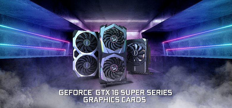 Компания MSI представила дюжину 3D-карт серии GeForce GTX 16 Super