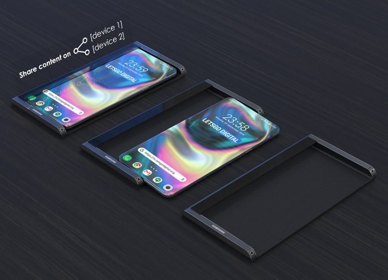 Галерея дня: флагманский Samsung Galaxy S11 с экраном-водопадом сможет создавать воздушные проекции