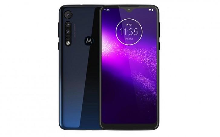 Motorola One Macro на первом качественном рендере