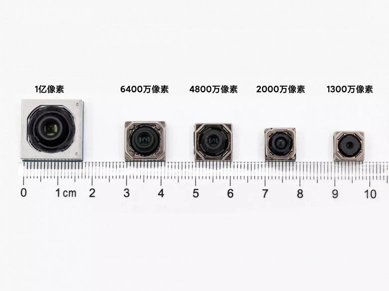 Датчик разрешением 108 Мп сравнили с камерами на 48, 20 и 13 Мп