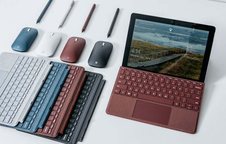 Самый дешёвый планшет Microsoft перейдёт на процессор Intel Core i3