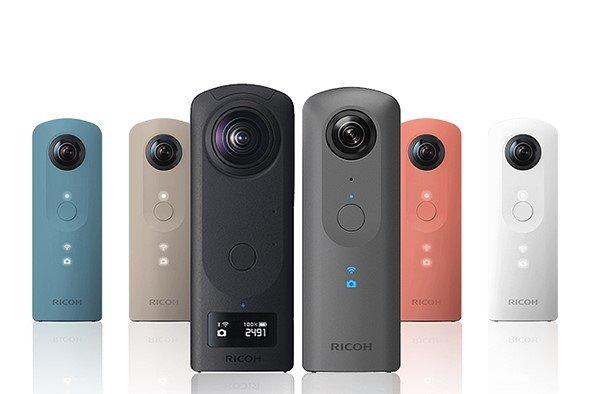 Ricoh добавляет новый режим фотосъемки «HDR с рук» в камеры Theta V и Z1