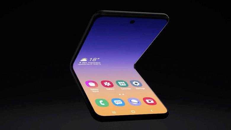 Samsung показала принципиально изменившийся Galaxy Fold 2. Он похож на складывающийся пополам Galaxy Note10