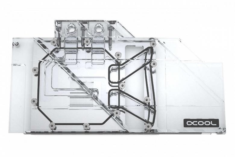 Водоблоки Alphacool Eisblock Aurora Plexi GPX-A предназначены для нереференсных 3D-карт серии Radeon RX 5700