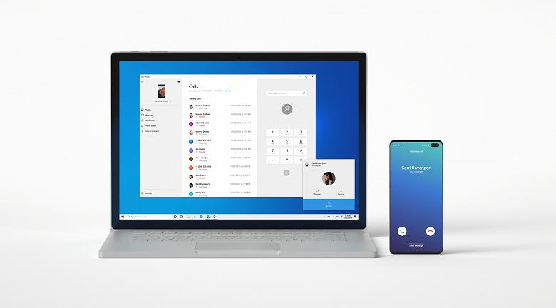 Microsoft разрешила Windows 10 звонить с большинства смартфонов на Android