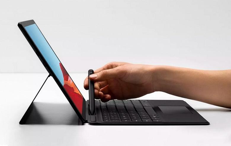 Microsoft Surface Pro X — очень тонкий планшет с Windows 10 и самой производительной платформой Qualcomm