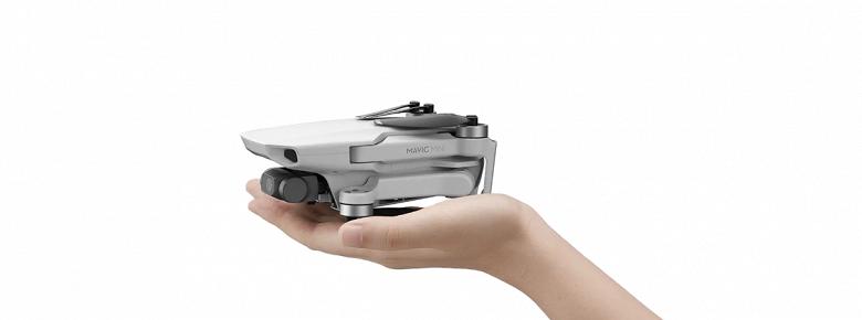 Представлен DJI Mavic Mini — дрон, который не нужно регистрировать