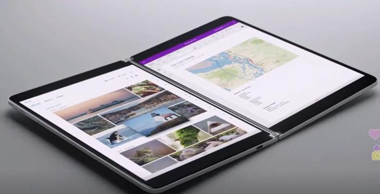 Когда одного экрана мало. Microsoft представила революционный ноутбук Surface Neo