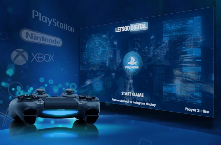 Голографический дисплей Sony: игры без очков, поддержка PlayStation, Xbox, Switch и смартфонов