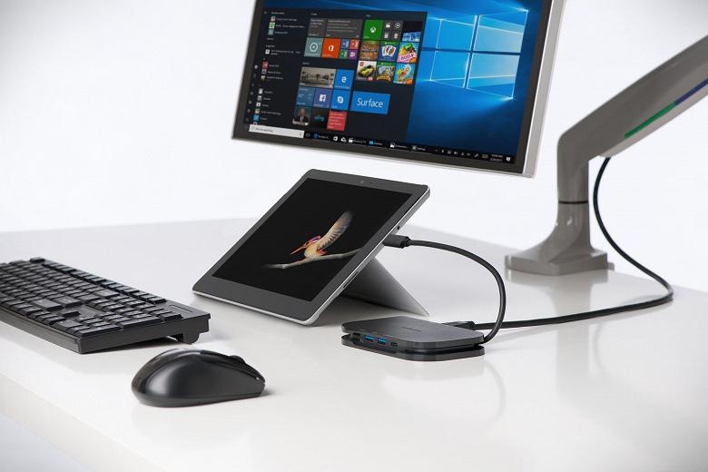Kensington выпускает чехол и док-станцию для новых мобильных компьютеров Microsoft Surface
