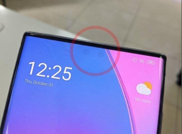 Роль Xiaomi Mi Mix 4 с подэкранной камерой сыграл... флагман Samsung