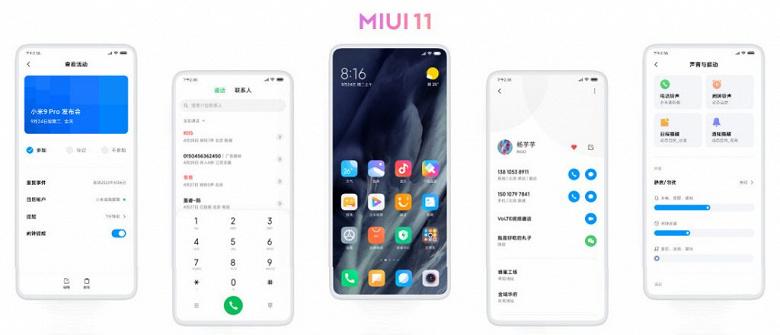 Названа дата международного дебюта MIUI 11 для смартфонов Xiaomi и Redmi за пределами Китая