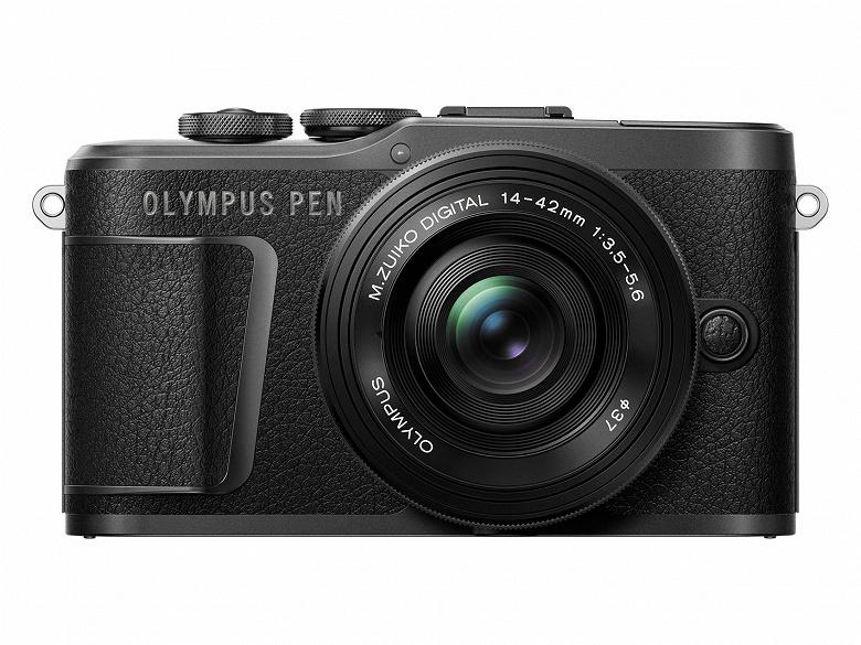 Камера Olympus PEN E-PL10 оснащена экраном, отклоняемым вниз