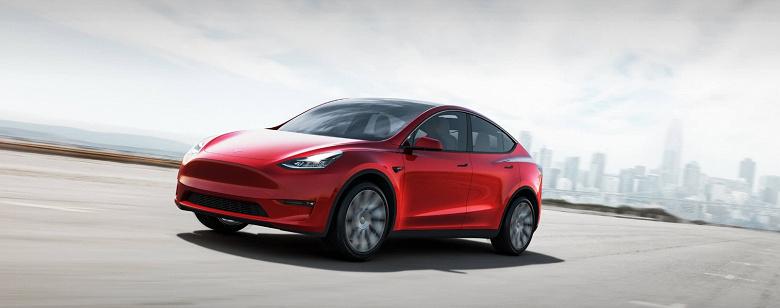 Следующий хит Tesla. Кроссовер Model Y замечен на дороге