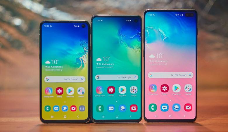 Владельцам Samsung Galaxy S10 предложили улучшенную версию Android 10
