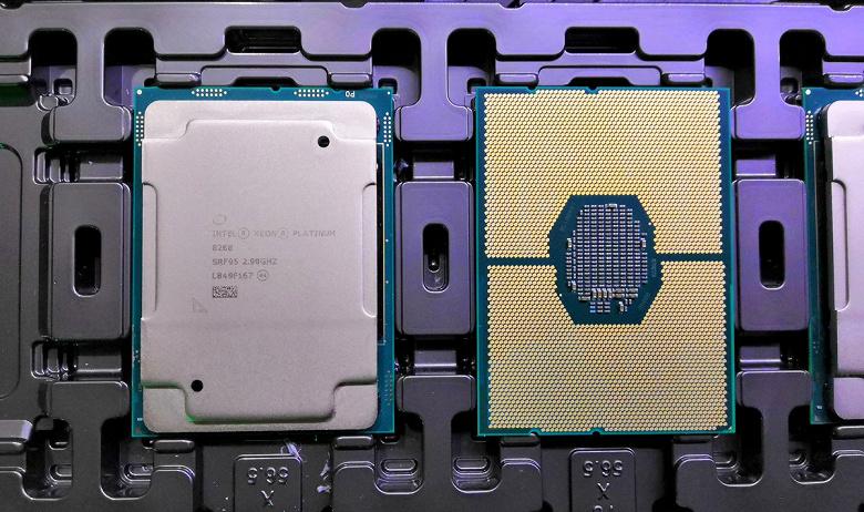 38-ядерные процессоры Intel Ice Lake будут иметь TDP 270 Вт