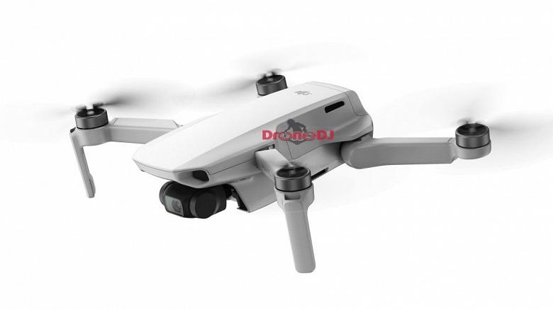 Появились новые фотографии и обновленные спецификации дрона DJI Mavic Mini