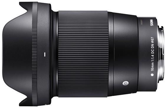 Представлены объективы Sigma 16mm F1.4 DC DN Contemporary, 30mm F1.4 DC DN Contemporary и 56mm F1.4 DC DN Contemporary для камер Canon EF-M